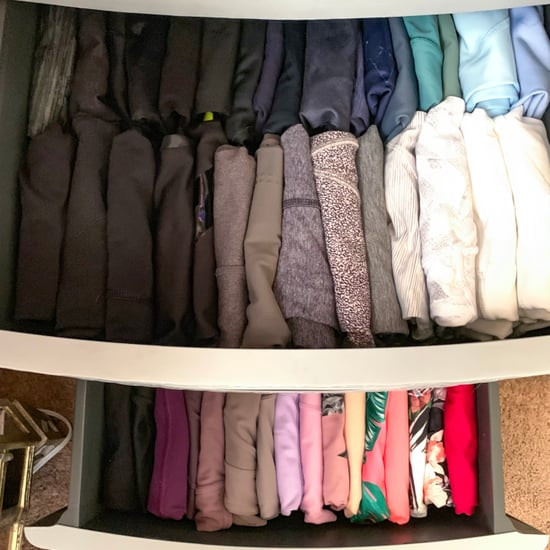 KonMari Method For Workout Clothes