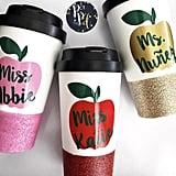 Glitter-Dipped Coffee Mug
