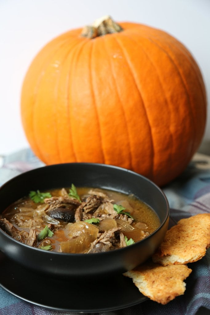 Slow Cooker French Onion Pot Pie Soup