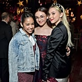 Ruth Righi, Anna Cathcart, and Lilia Buckingham at the P.S. I Still Love You Premiere in LA