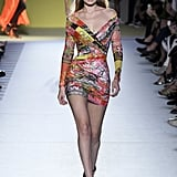 Gigi in a Versace Minidress