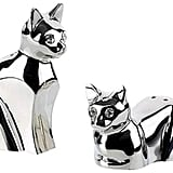 Silver Salt and Pepper Shaker ($25)