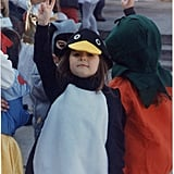 """My grandmother was an amazing seamstress and made me many outfits as a child. My grandmother asked what I wanted to be and I promptly said, 'penguin,' providing no reasoning whatsoever. She got to work and created one of my favorite costumes of all time."" — Emily Orofino, editor, Beauty"