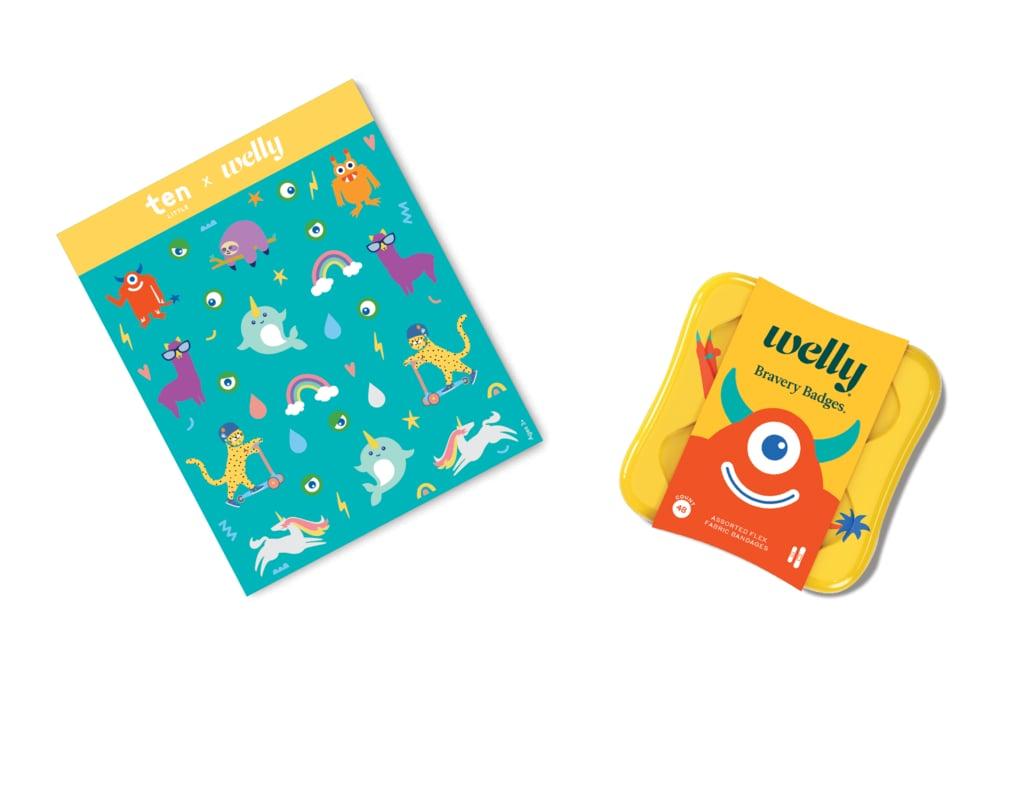 Ten Little x Welly Monster Bravery Bandage Set