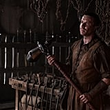 """On what Daenerys legitimizing Gendry will mean in the end: """"I don't think necessarily that all the trimmings that come with Lords of Storm's End are really the kinds of things that he was after. Power and the land and the wealth that you would imagine Gendry would acquire now, that's all kind of superfluous to him. I think the main thing that he would take from it is the legitimacy and that he's no longer a bastard. The fact that he's been recognized as a legitimate son of somebody — it can be as simple as that. You can imagine he's not a particular fan of hierarchy but he can place himself somewhere within it now."""""""
