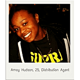 Amoy Hudson, 25, Distribution Agent