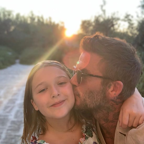 David and Victoria Beckham Family Pictures in Italy 2019