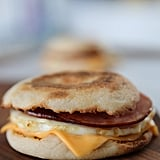 Homemade McDonald's Egg McMuffin