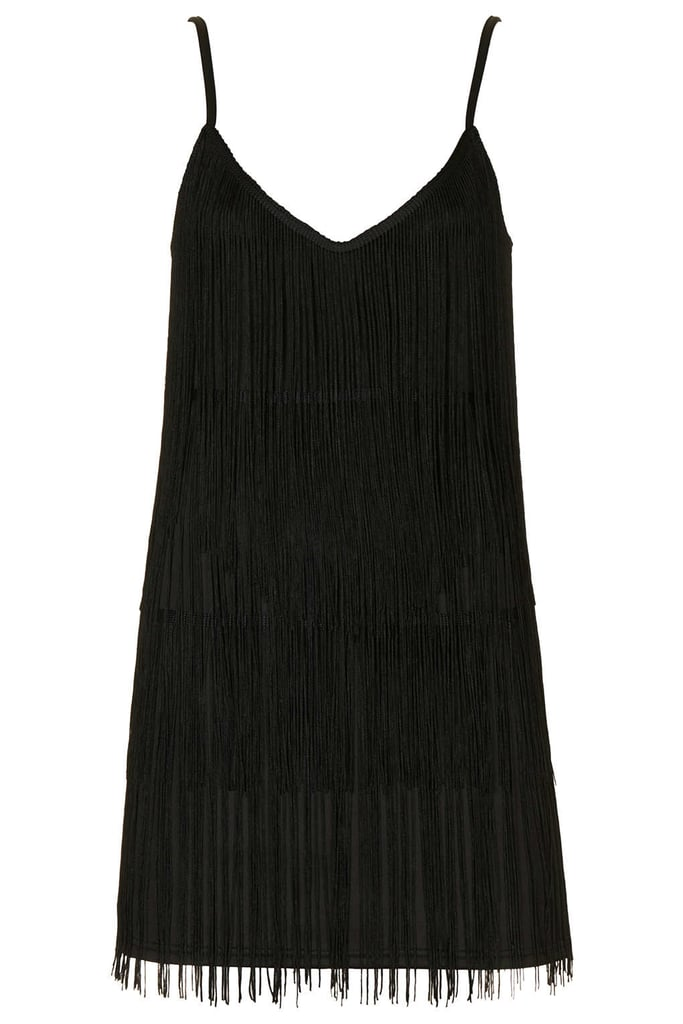 Topshop fringe dress ($96)