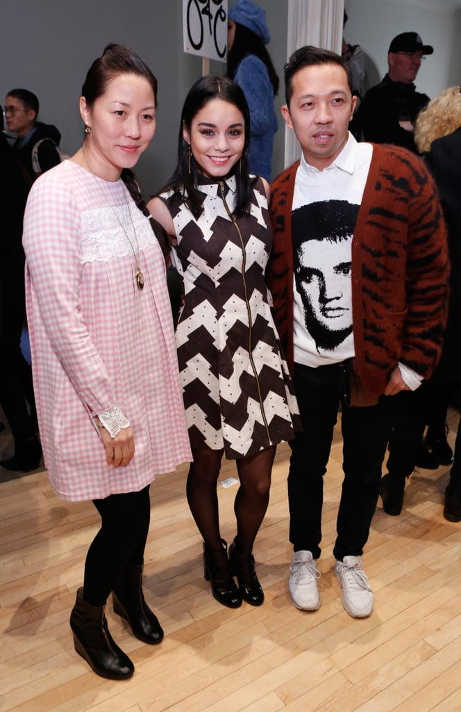 Carol Lim, Vanessa Hudgens, and Humberto Leon