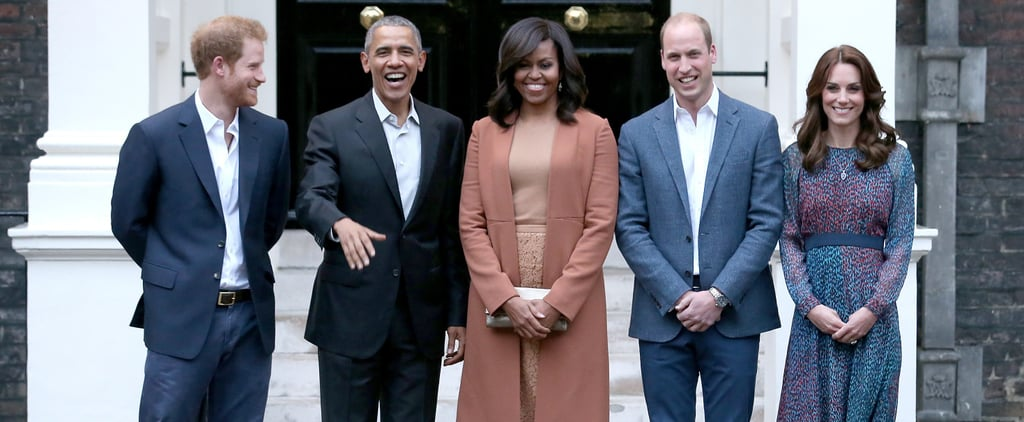 Pictures of the Royals With Barack and Michelle Obama