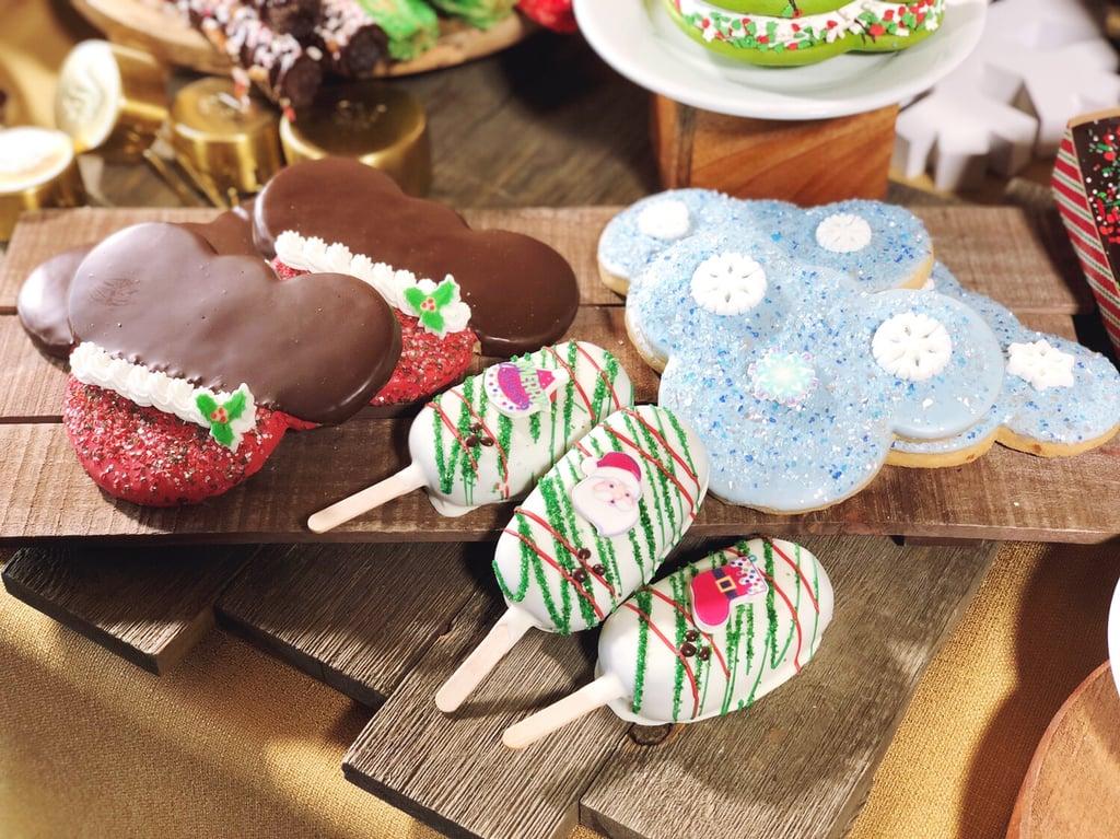 Holiday Cookies And Treats Christmas Food At Disneyland 2018