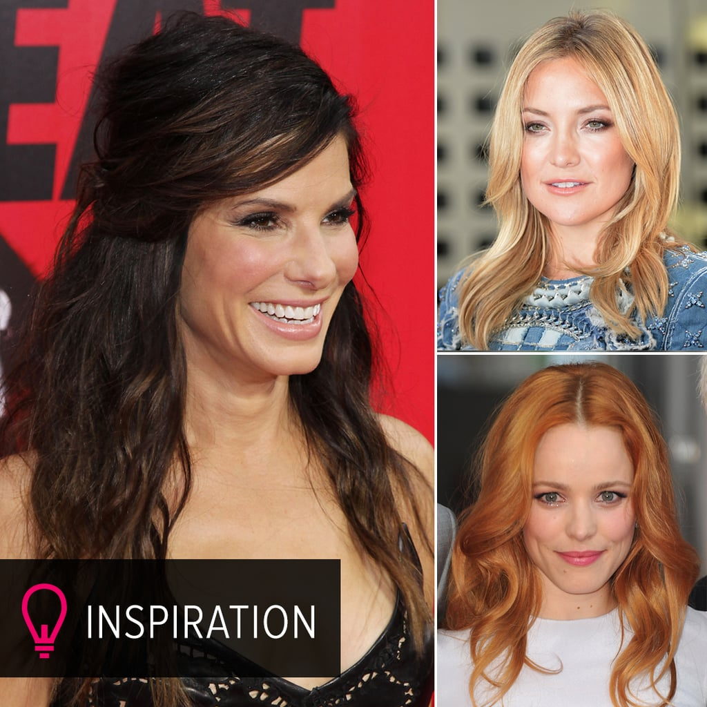 Pictures of Celebrities With Different Hair Colours