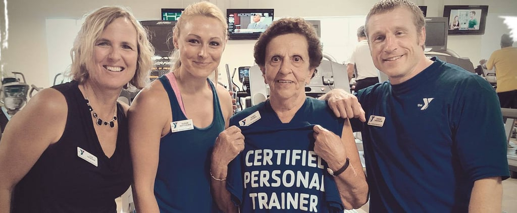 This 82-Year-Old Is a Personal Trainer to Clients Less Than Half Her Age!