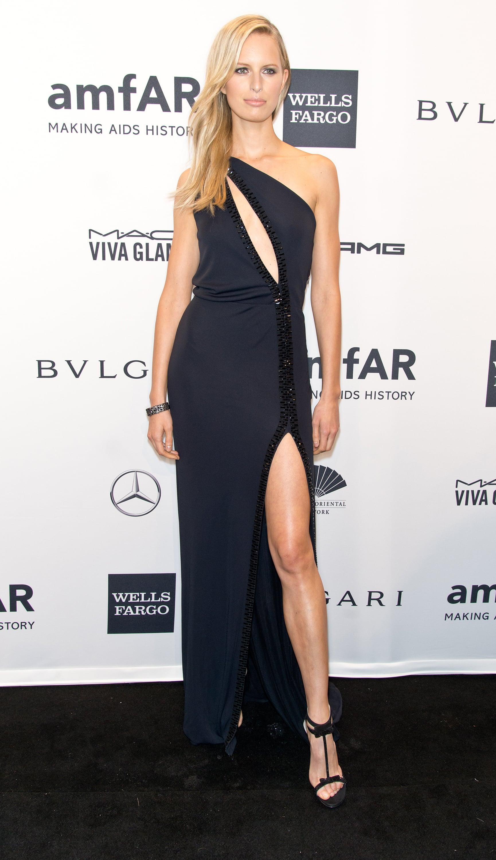 Karolina Kurkova at amfAR's New York Gala.