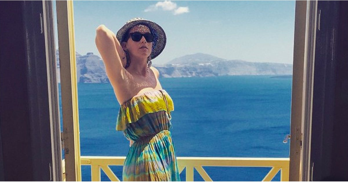 Katy Perry S Instagram Pictures Of Holiday In Greece