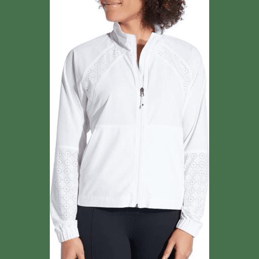 CALIA Women's Woven Full Zip Jacket