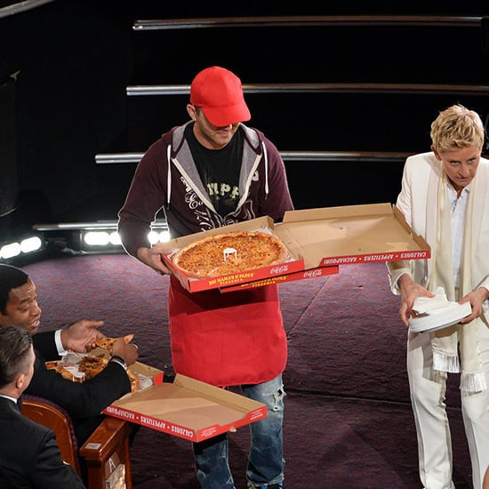 Edgar the 2014 Oscars Pizza Delivery Man