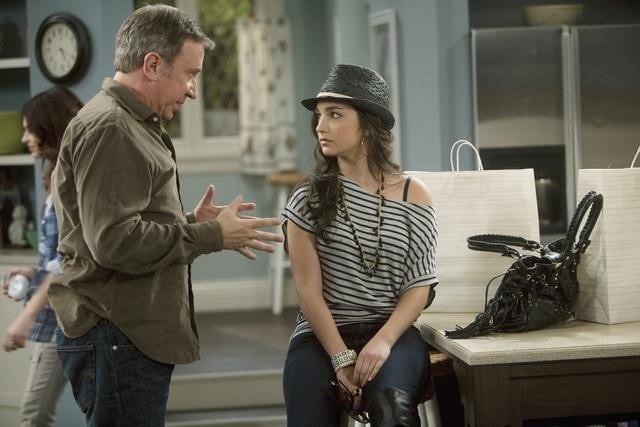 Tim Allen and Molly Ephraim in ABC's Last Man Standing.