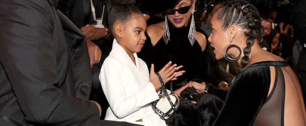 Blue Ivy Tries to Out-Accessorize Beyoncé With Her $2,675 Heart-Shaped Clutch
