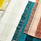 Handloomed Striped Viscose Rug