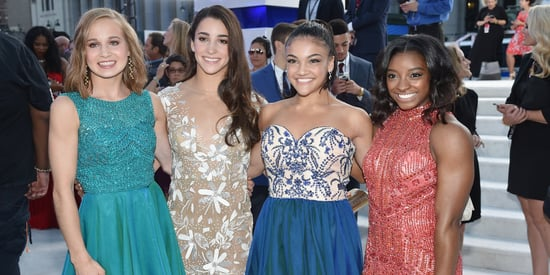 The U.S Women's Gymnastics Team Turns Heads At The VMAs