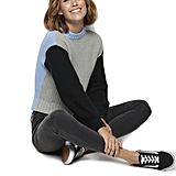 POPSUGAR at Kohl's Colorblock Crewneck Sweater