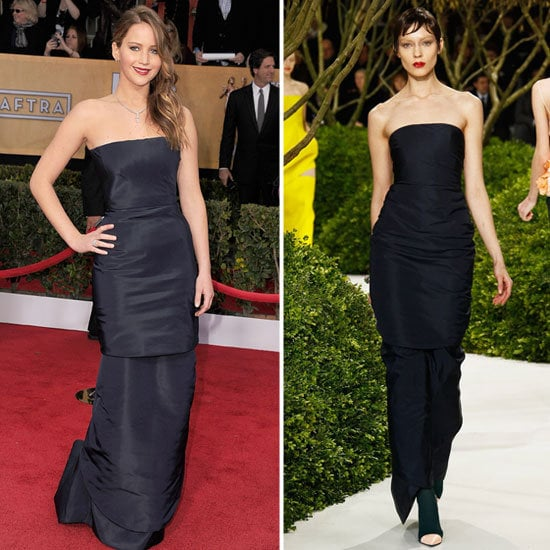 The celebs were all about taking gowns straight off the runway and onto the red carpet.