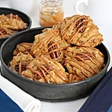 Pumpkin Pecan Cookies With Caramel Drizzle