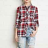 Forever 21 Plaid Flannel Shirt ($20)