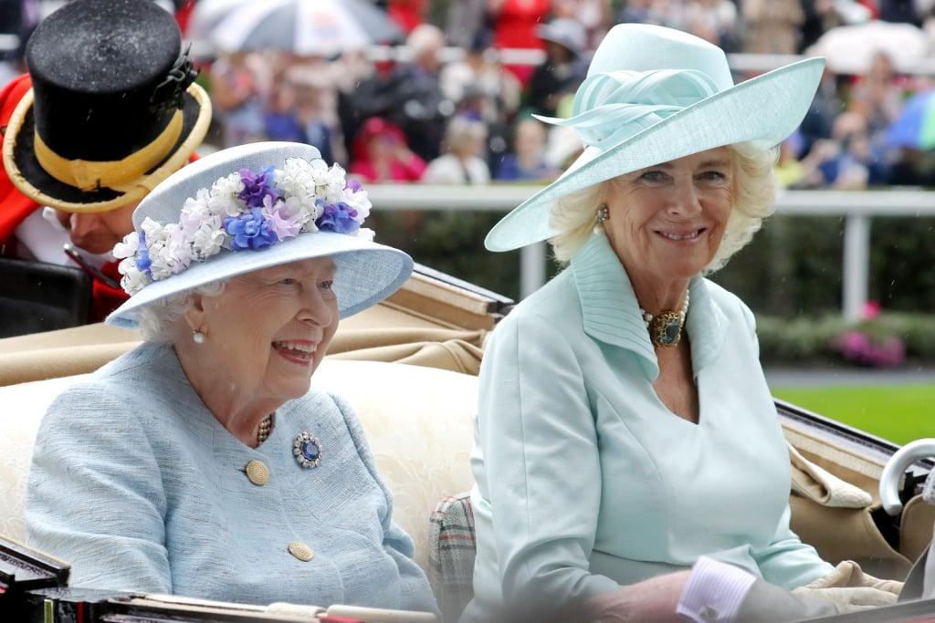 Queen Elizabeth II and Camilla, Duchess of Cornwall