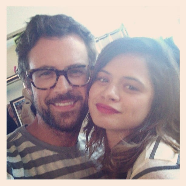 Brad Goreski shared a snap with his latest styling client, Fruitvale Station star Melonie Diaz. Source: Instagram user mrbradgoreski