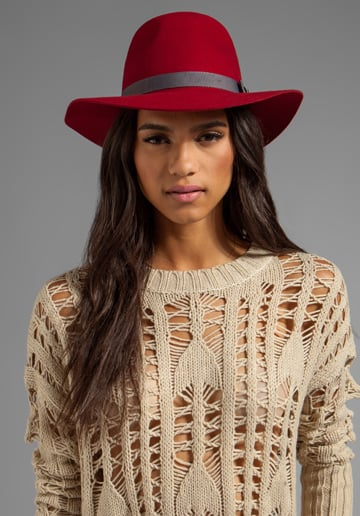 This Brixton Panama hat ($55) is the perfect transitional accessory. The rich red hue evokes a cozy Fall feeling, and the timeless silhouette guarantees panache for years to come. I plan on using it to tame my unruly mane while cheering on the Niners at Candlestick Park — at least for one more year. — MV
