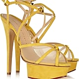 Isadora Suede and Mesh Sandals ($395, originally $965)