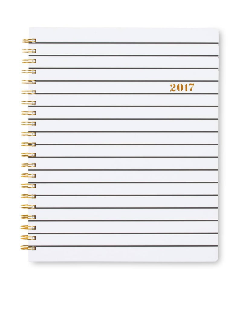 Sugar Paper White Weekly 2017 Planner ($15)