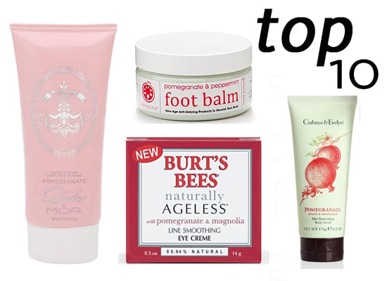 10 of the Best: Pomegranate Beauty Products