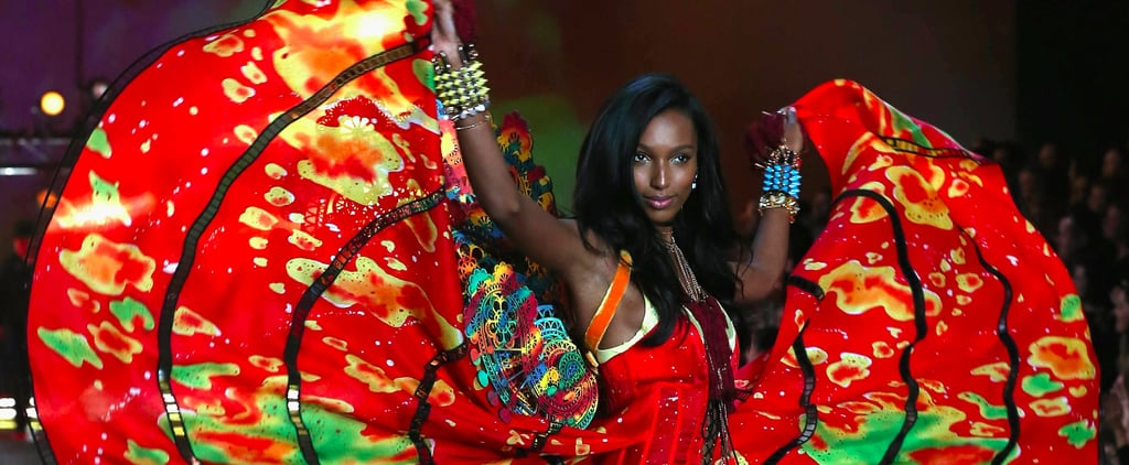 This Year's Fantasy Bra Was Actually Molded to Fit Jasmine Tookes's Body