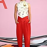 Yara Shahidi at the 2019 CFDA Awards