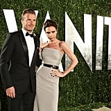 David and Victoria Beckham Mingle With Famous Friends Inside Vanity Fair's Oscar Bash