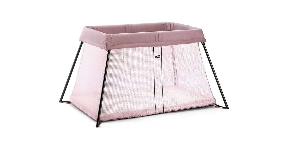 babybjorn travel crib light travel gifts for families popsugar. Black Bedroom Furniture Sets. Home Design Ideas