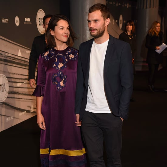 Jamie Dornan and Amelia Warner at British Film Awards 2016