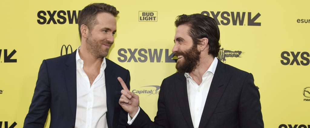 Ryan Reynolds and Jake Gyllenhaal at SXSW March 2017