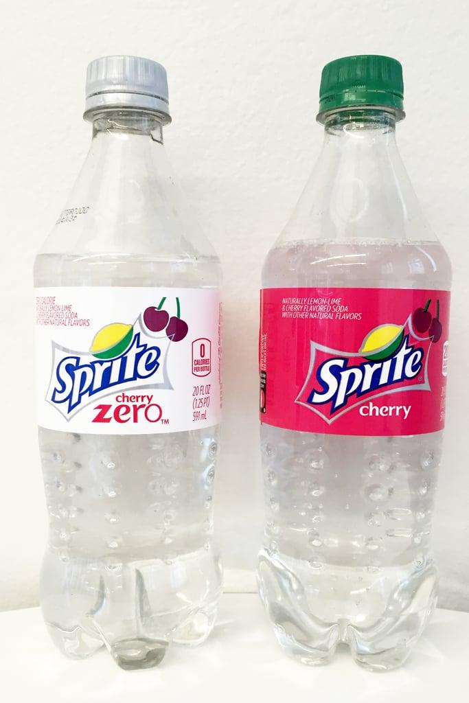 Sprite Cherry and Sprite Cherry Zero