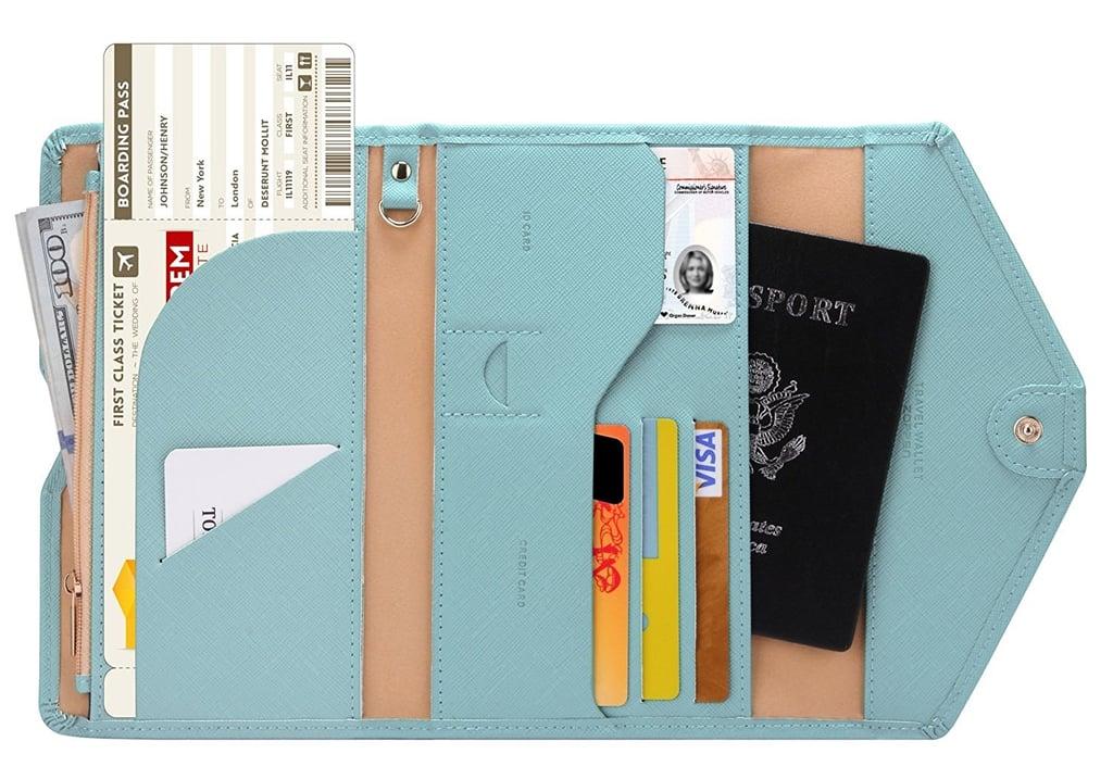 A Handy Wallet: Travel Passport Wallet