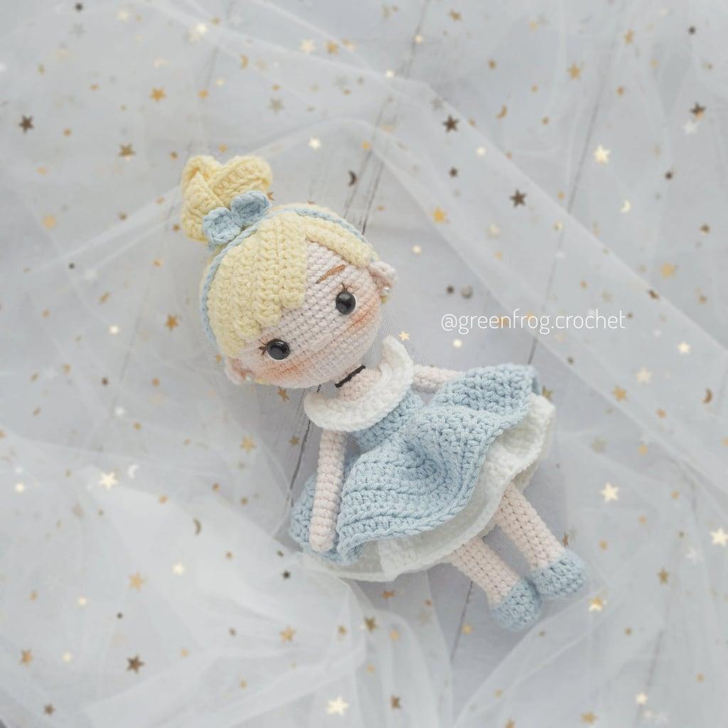 Disney Princess Doll Crochet Pattern — Cinderella
