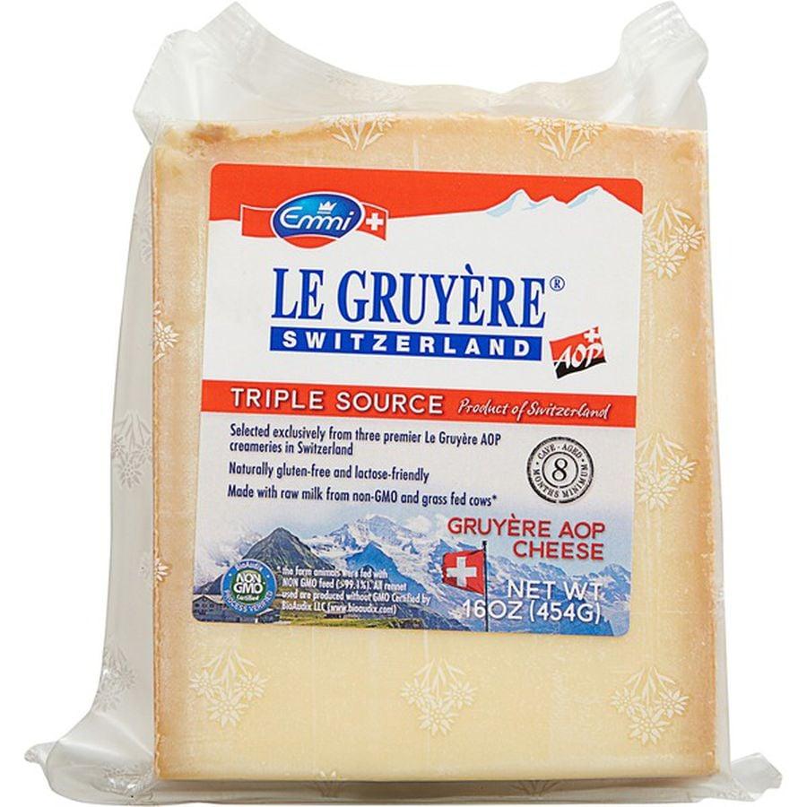 Emmi Roth Le Gruyere Cheese ($13)