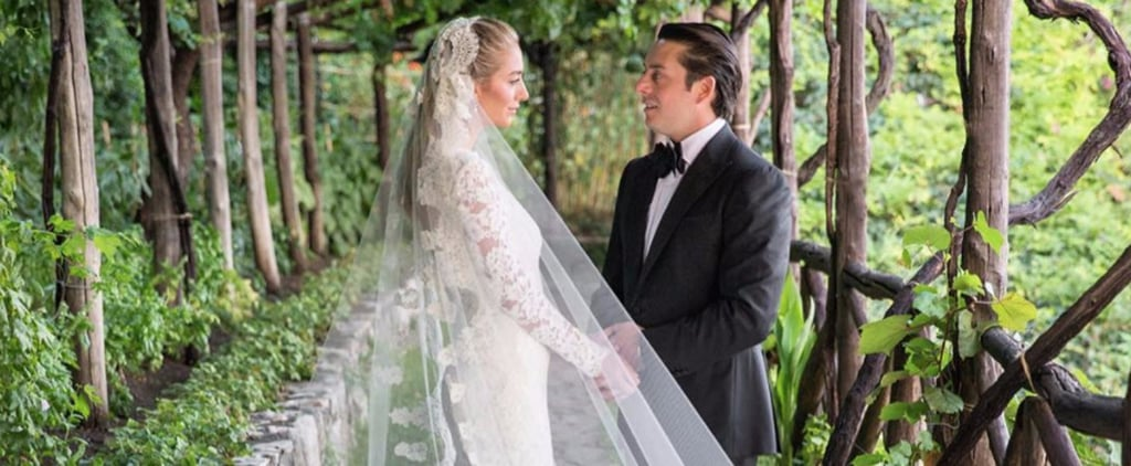 Whitney Wolfe Oscar de la Renta Wedding Dress