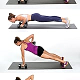Dumbbell Push-Up With Renegade Row