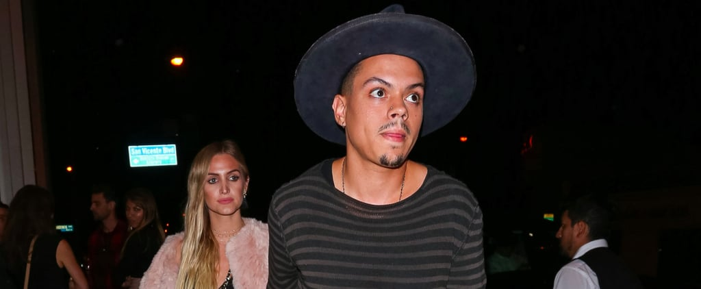 Ashlee Simpson and Evan Ross Hold Hands During a Late-Night Stroll in LA