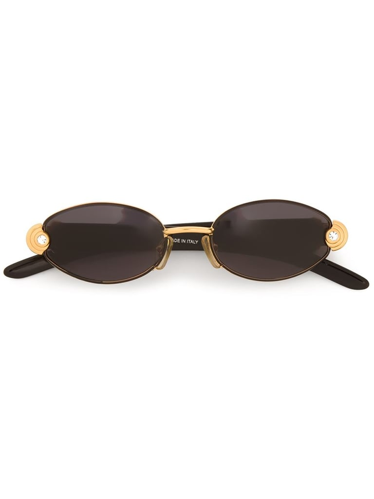 Gianfranco Ferre Oval Frame Sunglasses